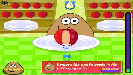 土豆君做苹果馅饼