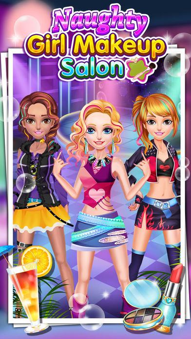 淘气女生化妆沙龙 - 女孩游戏