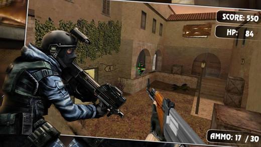 快速行动:反恐射击
