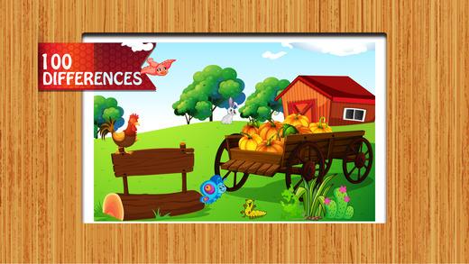农场动物的区别