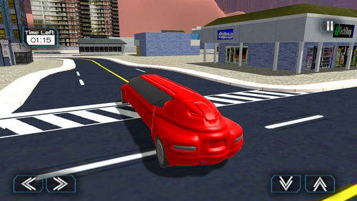 城市科幻豪华轿车模拟器和城市驾驶考试