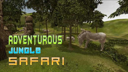 野斑马猎人模拟器 - 捕猎动物在这片丛林模拟游戏