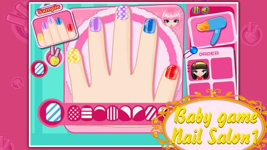女孩游戏-可可的美甲沙龙