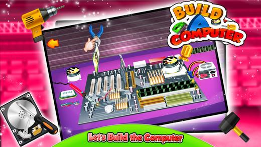 制造一台计算机 - 设计,制造和修电脑在这个疯狂的游戏为孩子们