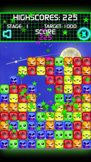 破产令人敬畏的匹配 3 狂热游戏粉碎的外星人免费的外星人高清 2014 年-   Bust A Alien HD 2014 Free - A Really Awesome Match 3 Mania Game Designed To Crush The Aliens!