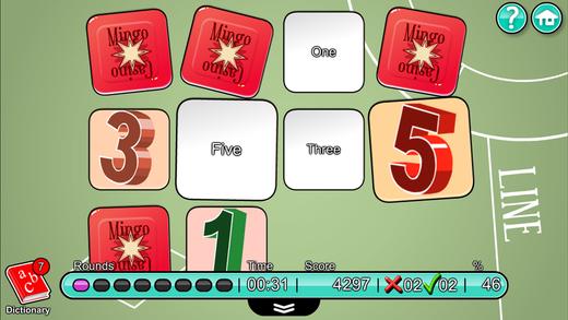 儿童英语 8:Mingoville中的'数字和字母'-这个有趣且益智的游戏立志于教给儿童6-12个与此题目相关的英语动词,名词和副词而开发。其中更包含25种不同语种的字典和互动帮助儿童更好地学习发音.