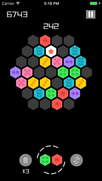 2048 六角拼拼拼