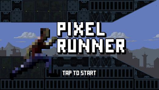 像素人快跑:简单的跑酷街机游戏
