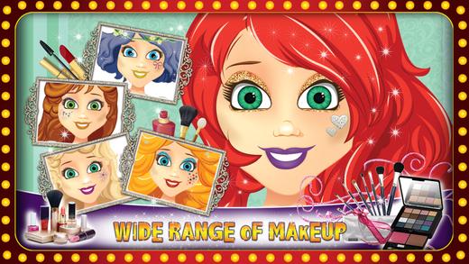 公主参加学校的舞会装扮 - 化妆与时尚沙龙游戏的小女孩