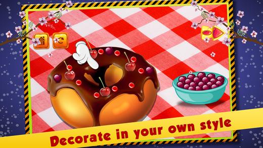 甜甜圈蛋糕制造商 - 名人厨师烘焙故事
