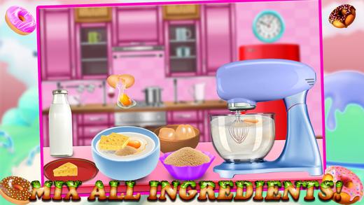 彩虹甜甜圈制造商 - 烤主厨