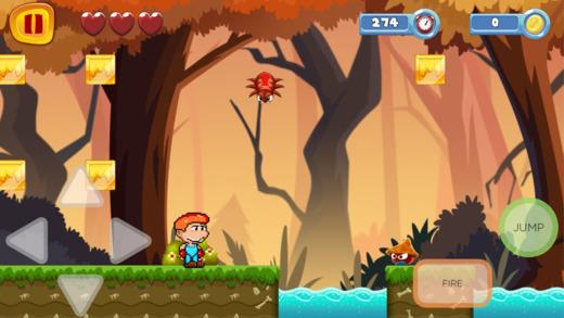超级像素英雄跳跃和跑的寺庙冒险