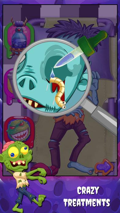 僵尸手术医生 - 外科医生疯狂的怪物游戏