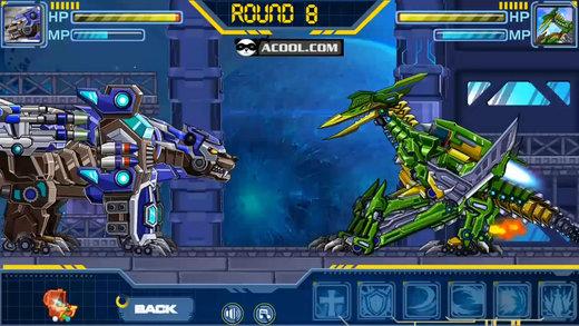 玩具机器人大战:闪电翼龙