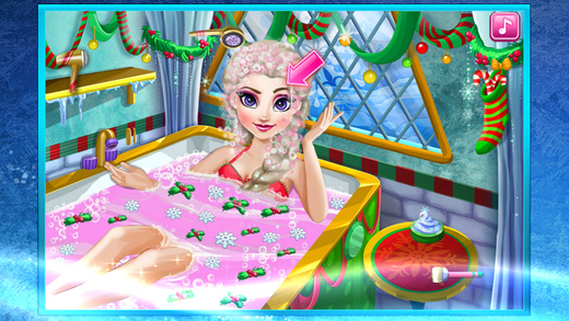 冰公主的冬季水疗沙龙 ^0^