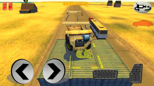怪物车轮卡车司机停车场Sim