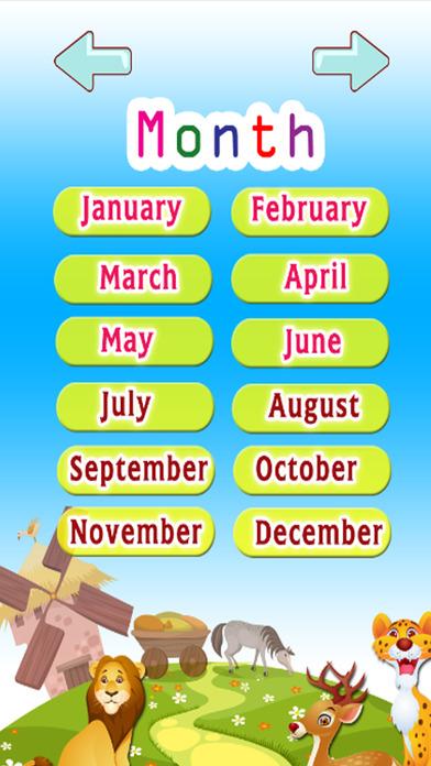 学习英语词汇 - 天:学习教育游戏的孩子 - 免费的!