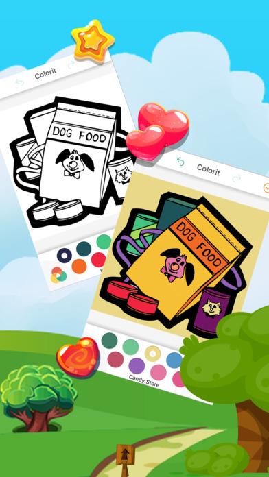 著色遊戲 寵愛 食物食譜 适合女生的游戏