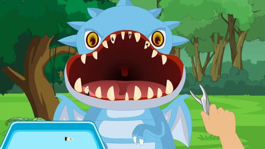 恐龙牙科手术-考验快速的游戏