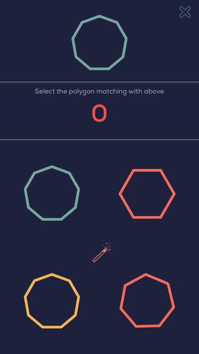 多角形 X