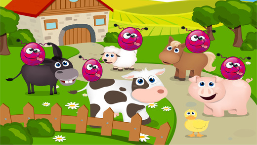 农场动物的差异游戏