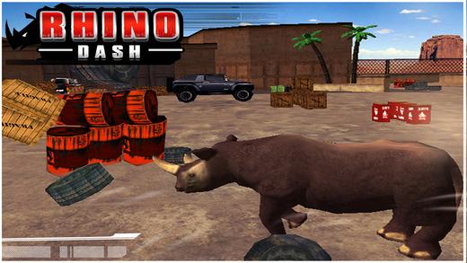 的三维犀牛冲刺免费(横冲直撞模拟器游戏)