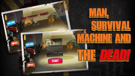 僵尸生存机器是免费的:汽车和枪支赛车