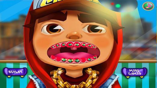 地铁男孩牙医