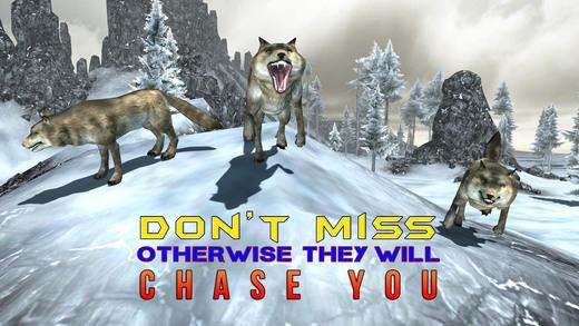 愤怒的狼猎人模拟器 - 拍摄的动物在这个狙击模拟游戏