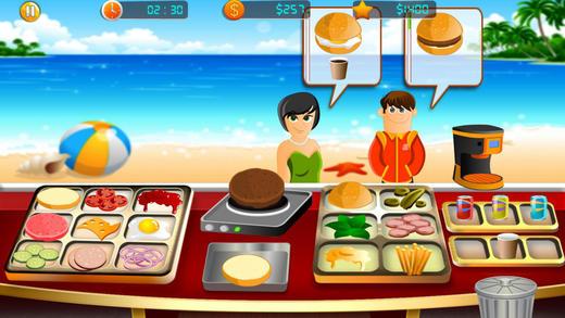 烹饪游戏 - 汉堡餐厅