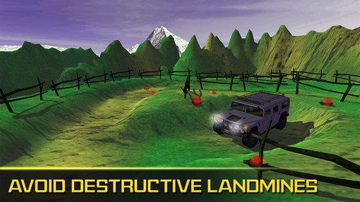 真正的吉普车司机地雷越野驾驶游戏