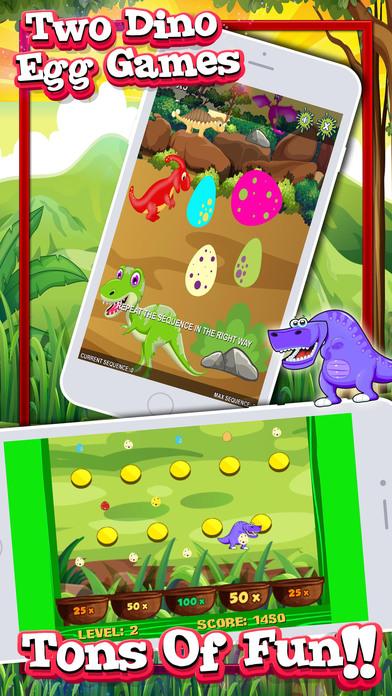 孩子们的恐龙游戏!