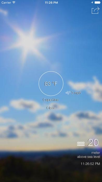 超本地天气和准确的海拔