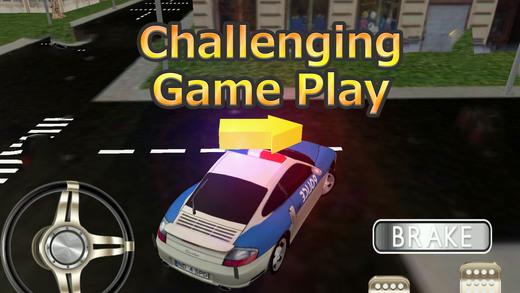 警车模拟器 - 警察驾驶的车辆在这个模拟驾驶游戏