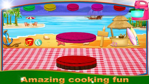 彩虹冰淇淋三明治 - 甜品