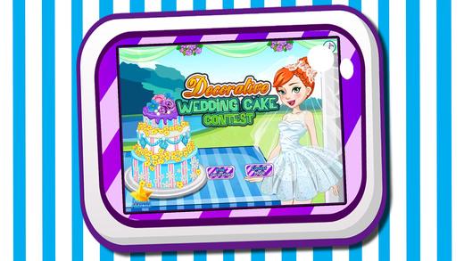 装饰蛋糕大赛-公主的梦幻婚礼蛋糕