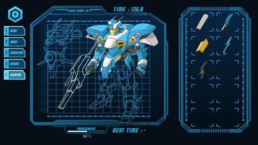机器人大战游戏 - 重装机械组装