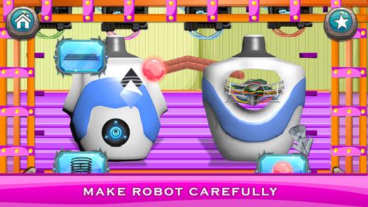 机器人工厂 - 构建真正的钢机器人