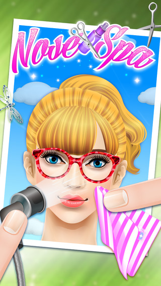 公主鼻子SPA - 女孩游戏