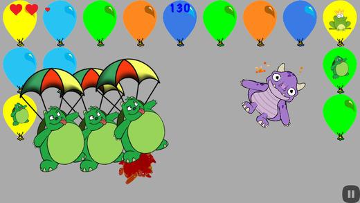 气球爆破怪