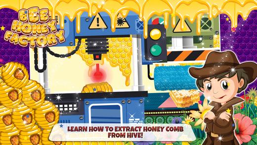 蜂蜜制造商 - 疯狂的烹饪狂热的游戏为孩子们