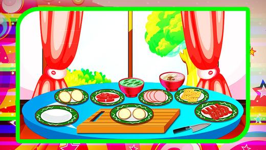 烤帕尼尼制造商 - 让吃和在这个疯狂的游戏中餐厅服务快餐