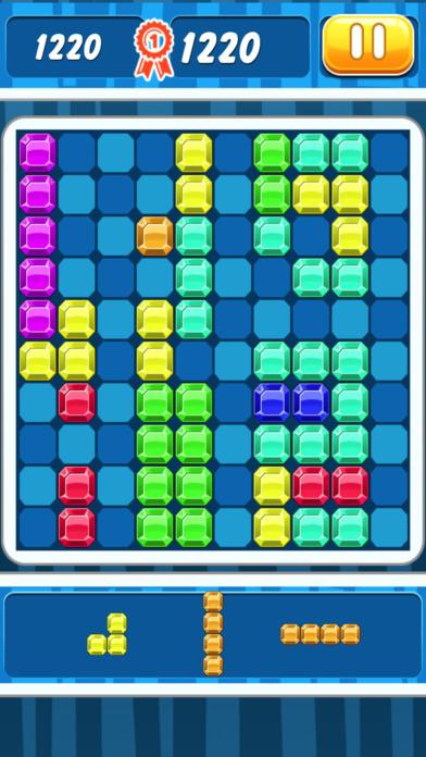Block Puzzle Mania : Jewel Hexa Puzzle