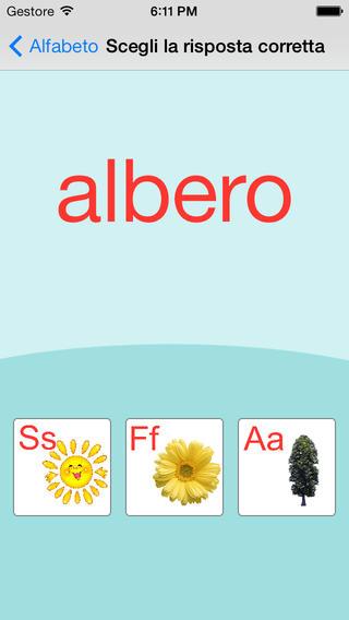 意大利字母卡和测验