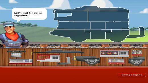 托马斯组装火车头