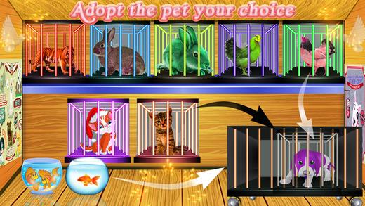 宠物商场出纳 - 动物店