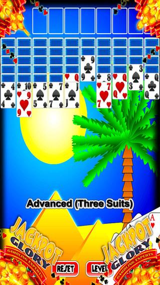 法老的金字塔蜘蛛纸牌 Pharaoh's Pyramid Spider Solitaire PRO - Way Casino Blitz Classic Solitaire Free Edition