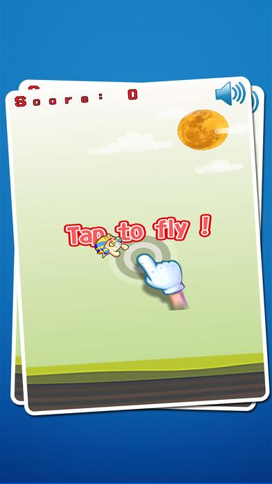 惡魔擺動飛揚飛:超級惡魔飛行冒險遊戲