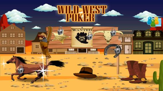 狂野西部扑克 - 四门轿车版