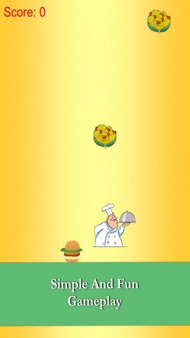 敏捷的厨师:抓住美味的食物